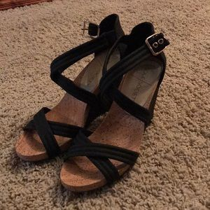 Sole Society Wedge Sandals